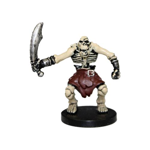 Underdark #55 Orc Skeleton (C)