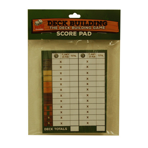 Deck Building: The Deck Building Game - Score Pad