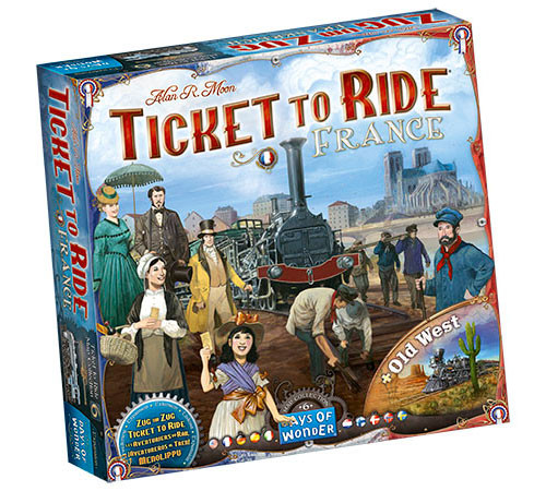 Ticket to Ride: Map Collection V6 - France & Old West