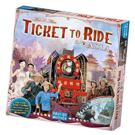 Ticket to Ride Asia Collection Volume 1