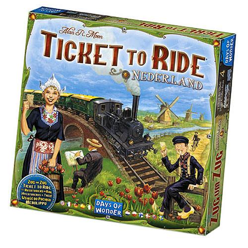 Ticket to Ride - Map Collection Volume 4: Nederland