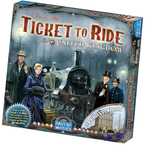 Ticket to Ride -Map Collection Vol 5: United Kingdom and Pennsylvania