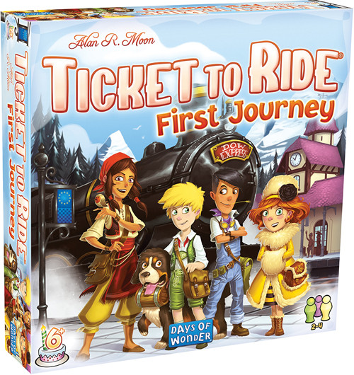 Ticket to Ride: First Journey - Europe