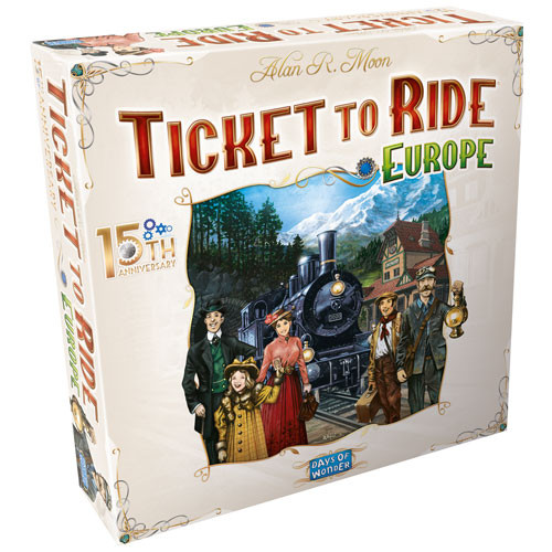Ticket to Ride: Europe - 15th Anniversary Edition