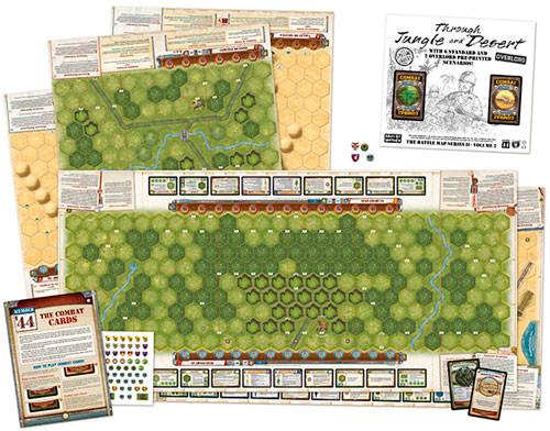 Memoir '44: The Battle Map Series II - V2 Through Jungle & Desert