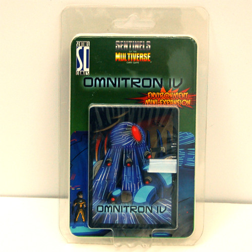 Mini Expansion for Sentinels of the Multiverse Card Game Omnitron IV
