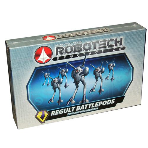 Robotech RPG Tactics: Zentraedi - Regult Battlepod Squadron (6)