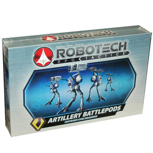 Robotech RPG Tactics: Zentraedi - Artillery Battlepods (4)