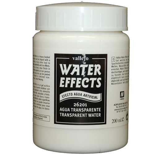 Vallejo Wet Effects: Transparent Water (200ml)