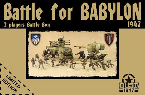 Dust 1947: Battle for Babylon - Two-Player Starter Set