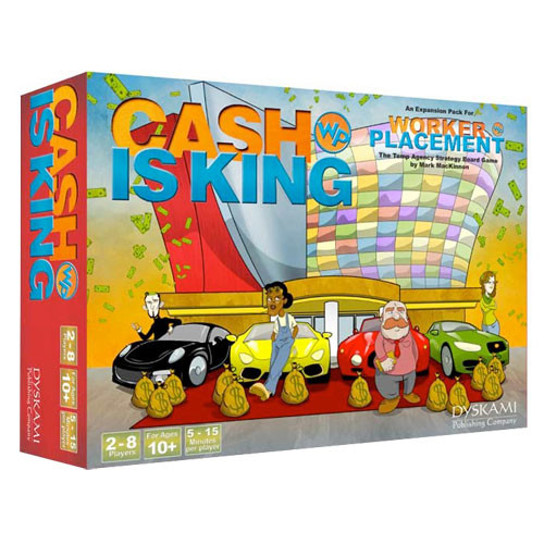 Worker Placement: Cash Is King Expansion