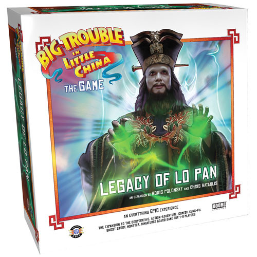 Big Trouble in Little China: The Game - Legacy of Lo Pan Expansion