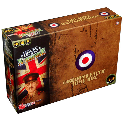 Heroes of Normandie: UK Commonwealth Army Box Expansion