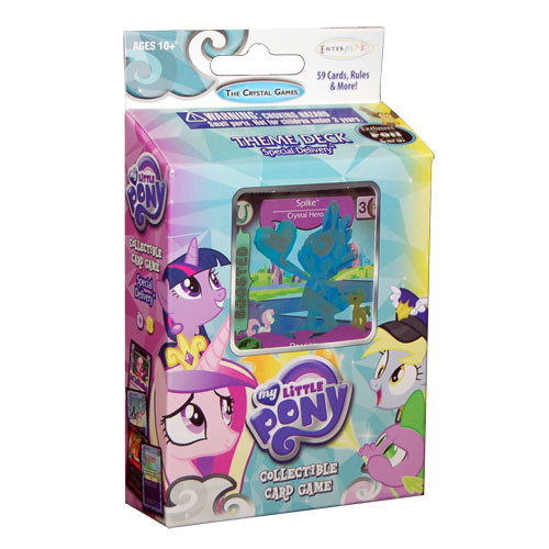 My Little Pony CCG: The Crystal Games - Special Delivery Theme Deck