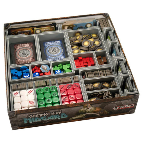 Box Insert: Champions of Midgard & Expansions