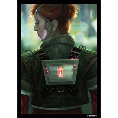 Fantasy Flight Sleeves: Android Netrunner - Deep Red (50)