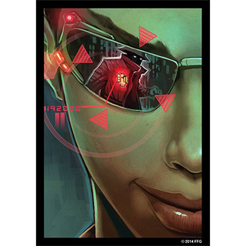 Fantasy Flight Sleeves: Android Netrunner - Posted Bounty (50)