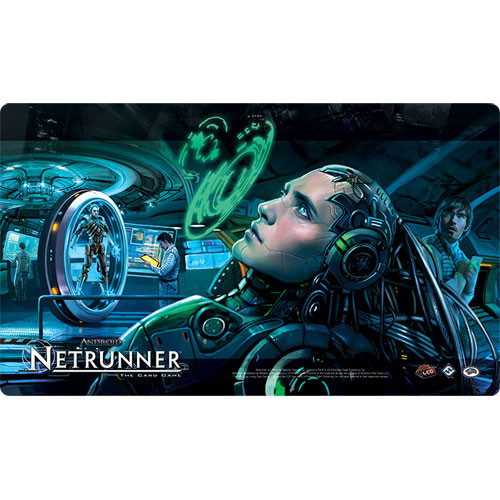 Fantasy Flight Playmat: Android Netrunner - Creation and Control