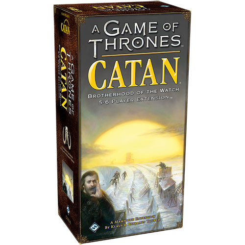 A Game of Thrones Catan: Brotherhood of the Watch - 5-6 Player Extensi