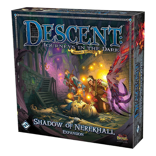 Descent: Journeys in the Dark (2nd edition) - The Shadow of Nerekhall