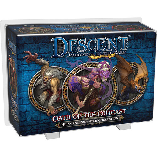 Descent (2nd edition): Oath of the Outcast Hero & Monster Collection