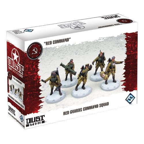 Dust Tactics - SSU Red Guards Command Squad
