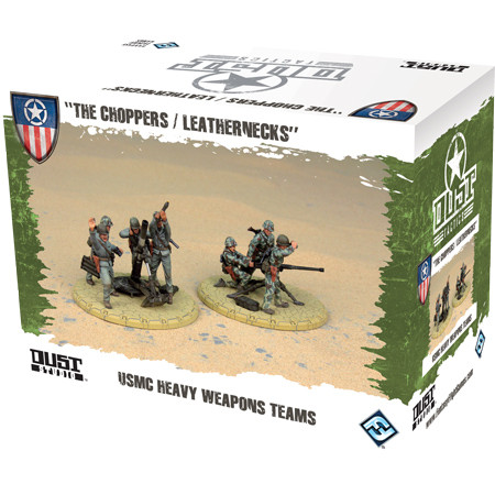 Dust Tactics - Allies: USMC Heavy Weapons Teams