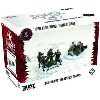 Dust Tactics - SSU: Heavy Weapons Team (Red Lightning/Hailstorm)