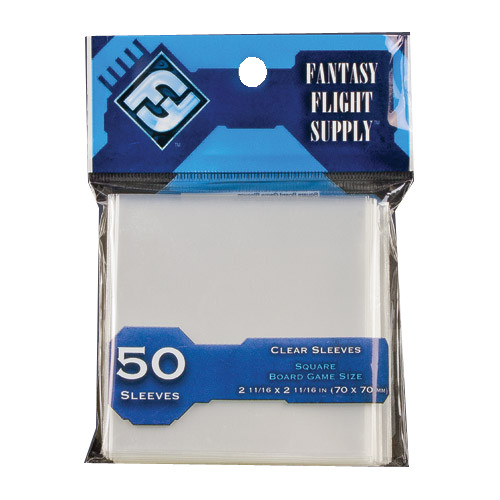 Fantasy Flight Sleeves: Square Board Game Sleeves (70 x 70 mm)