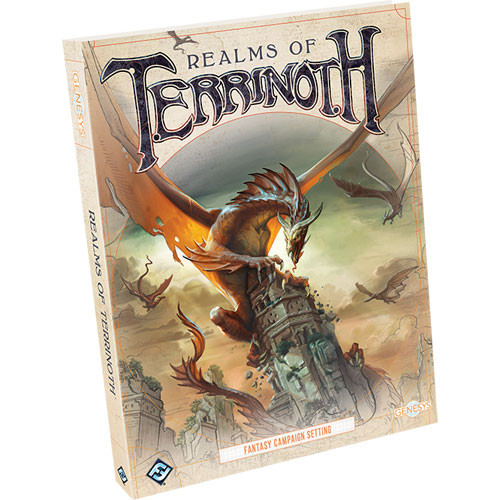 Genesys RPG: Realms of Terrinoth (Hardcover)