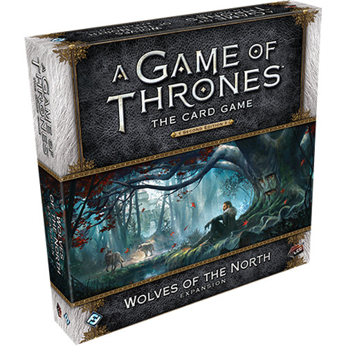 A Game of Thrones LCG (2nd Ed): Wolves of the North Deluxe Expansion