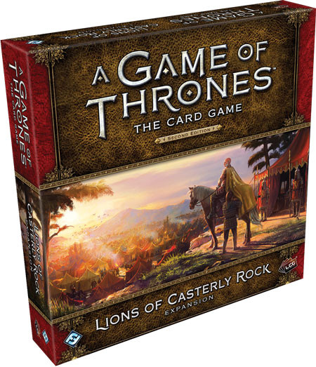 A Game of Thrones LCG (2nd Edition): Lions of Casterly Rock Deluxe Exp