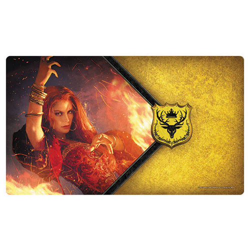 A Game of Thrones LCG Playmat: The Red Woman