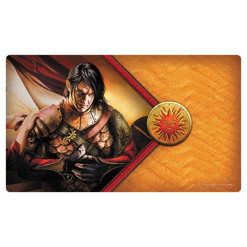 A Game of Thrones LCG Playmat: The Red Viper