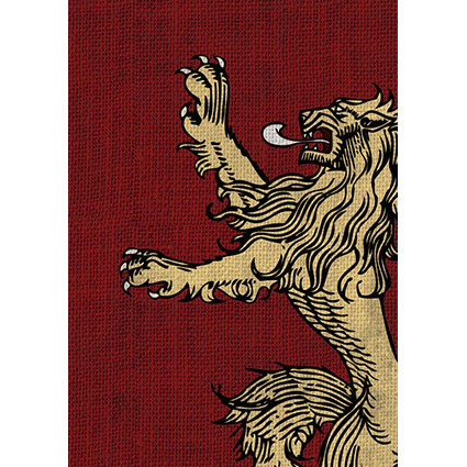 Fantasy Flight Sleeves: A Game of Thrones - House Lannister (50)