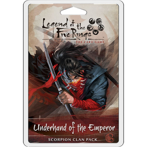 Legend of the Five Rings LCG: Underhand of the Emperor - Scorpion Clan