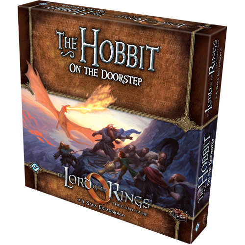 The Lord of the Rings LCG: The Hobbit - On the Doorstep Saga Expansion