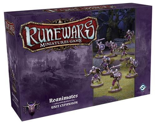 Runewars Miniatures Game: Reanimates Unit Expansion