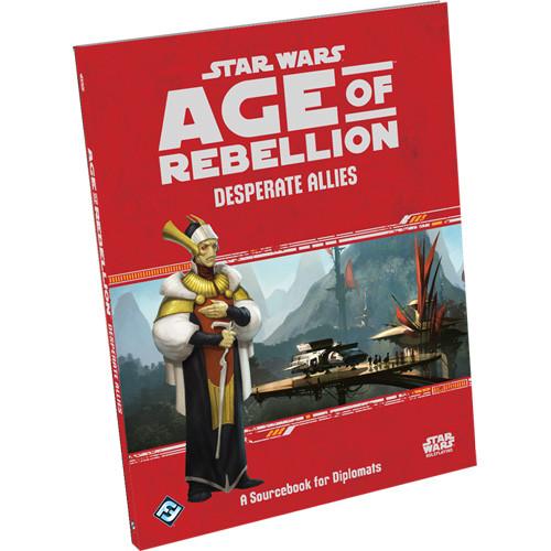 Star Wars: Age of Rebellion RPG - Desperate Allies Sourcebook