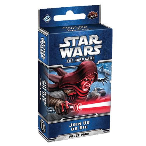Star Wars LCG - Join Us or Die Force Pack