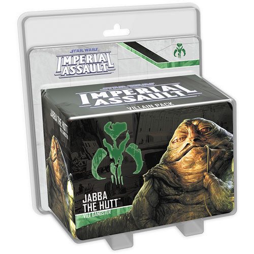 Star Wars: Imperial Assault - Jabba the Hutt Villain Pack