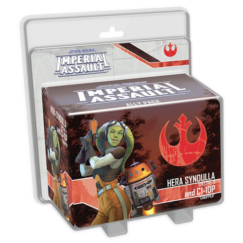 Star Wars: Imperial Assault - Hera Syndulla & C1-10P Ally Pack