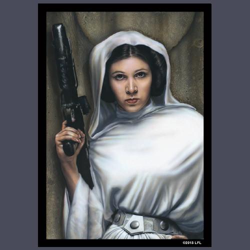 Fantasy Flight Sleeves: Star Wars - Princess Leia LE (50)