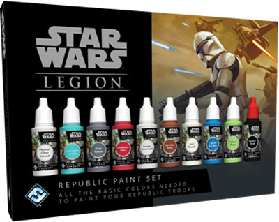 Star Wars: Legion - Republic Paint Set