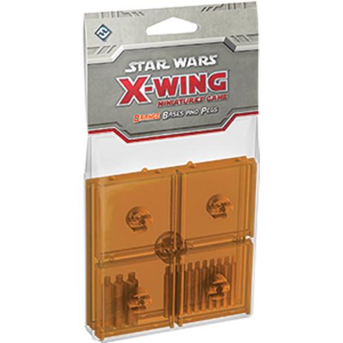Star Wars: X-Wing - Base and Peg Set (Orange)