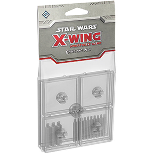 Star Wars: X-Wing - Base and Peg Set (Clear)