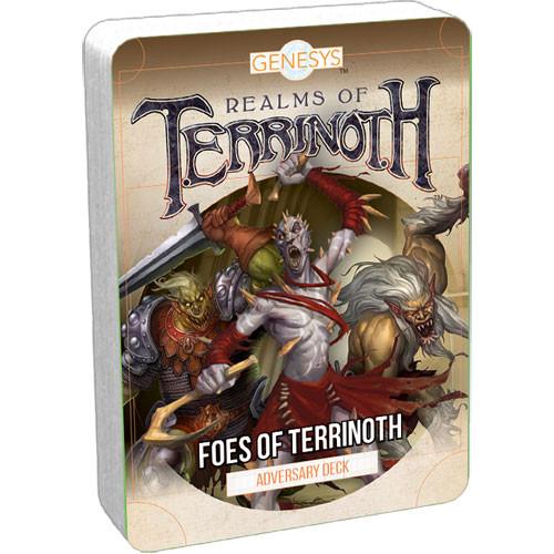 Genesys RPG: Foes of Terrinoth Adversary Deck