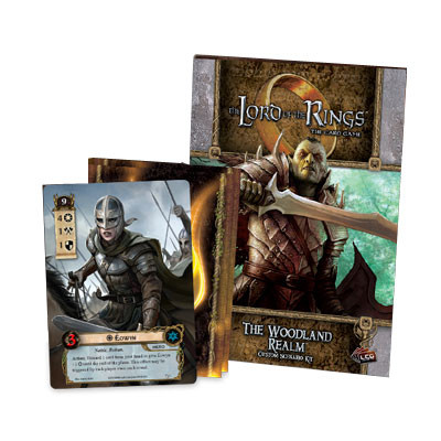 The Lord of the Rings LCG: The Woodland Realm Custom