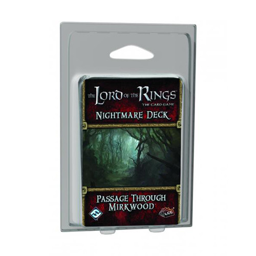 The Lord of the Rings LCG: Passage Through Mirkwood Nightmare Deck
