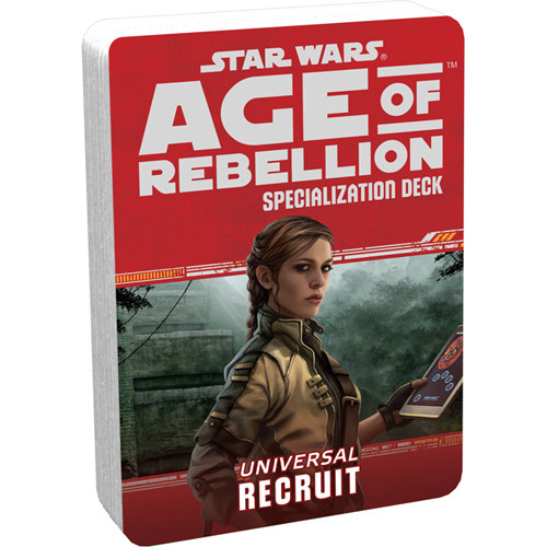 Star Wars: Age of Rebellion RPG - Specialization Deck: Recruit